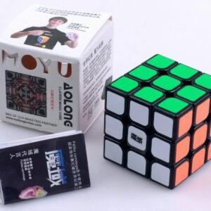 moyu 3x3 mini aolong negro caja