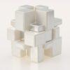 yuxin mirror cube blanco plata