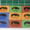 HKN HP Stickers